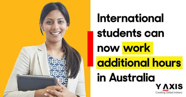 International students can work more than 40 hours