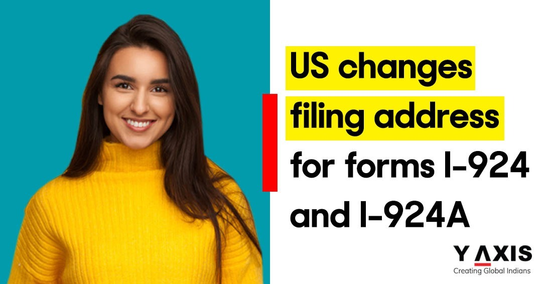 USA changes filing location for I-924