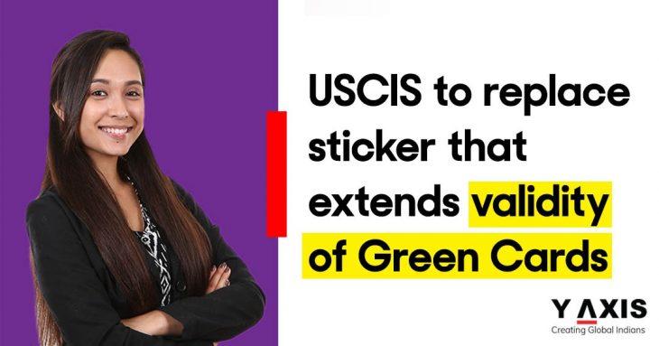 USCIS new sticker