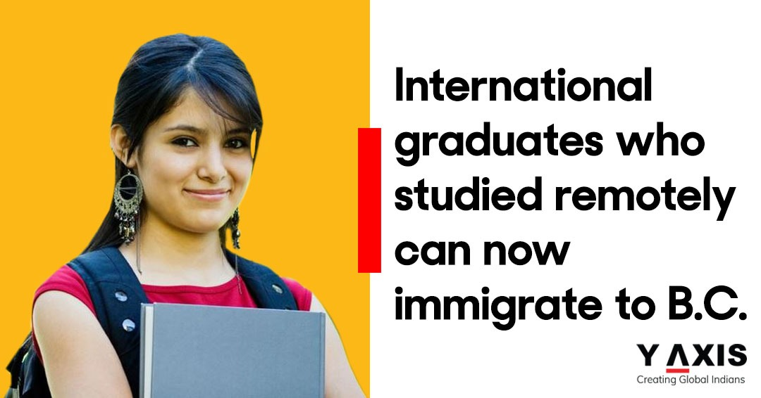 International graduates who studied remotely can now immigrate to B.C.