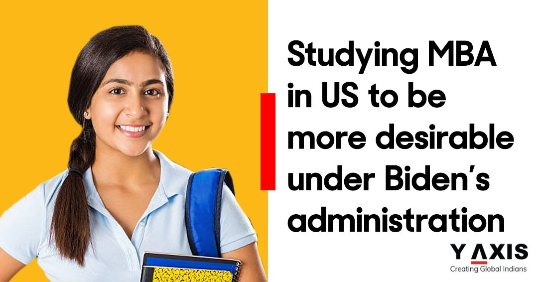 Studying MBA in US to be more desirable under Biden's administration