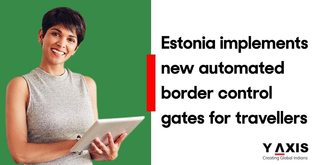 Estonia installs automated gates at border