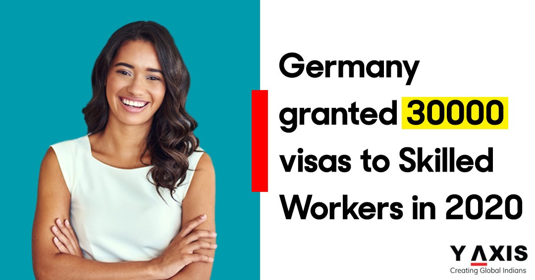 Germany granted 30000 visas to Skilled Workers in 2020