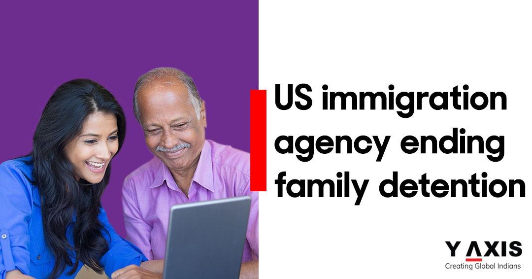 US immigration agency ending family detention