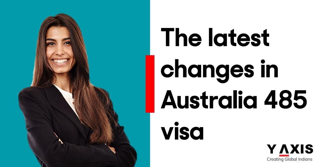 Australian Subclass 485 visa – info & update