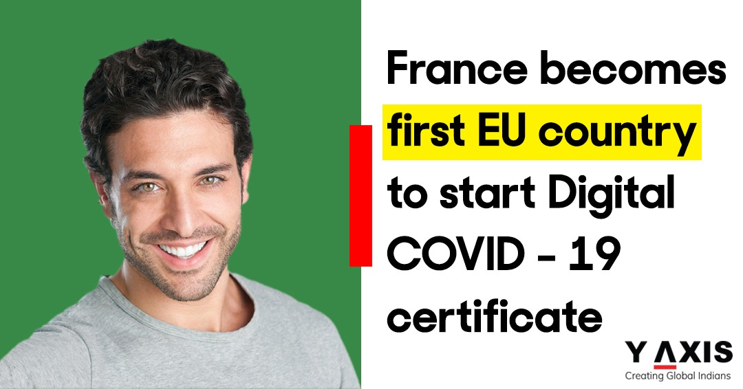 France becomes first EU country to start Digital COVID certificate