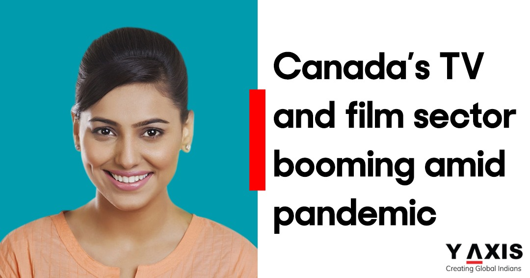Canada's TV and film sector booming amid pandemic
