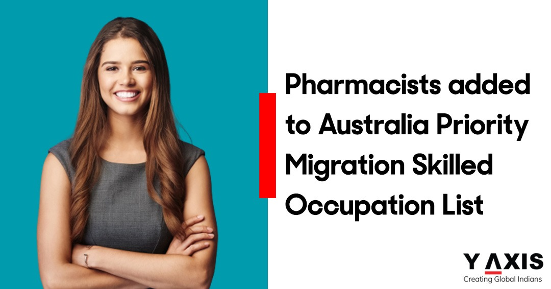 Pharmacists added to Australia Priority Migration Skilled Occupation List