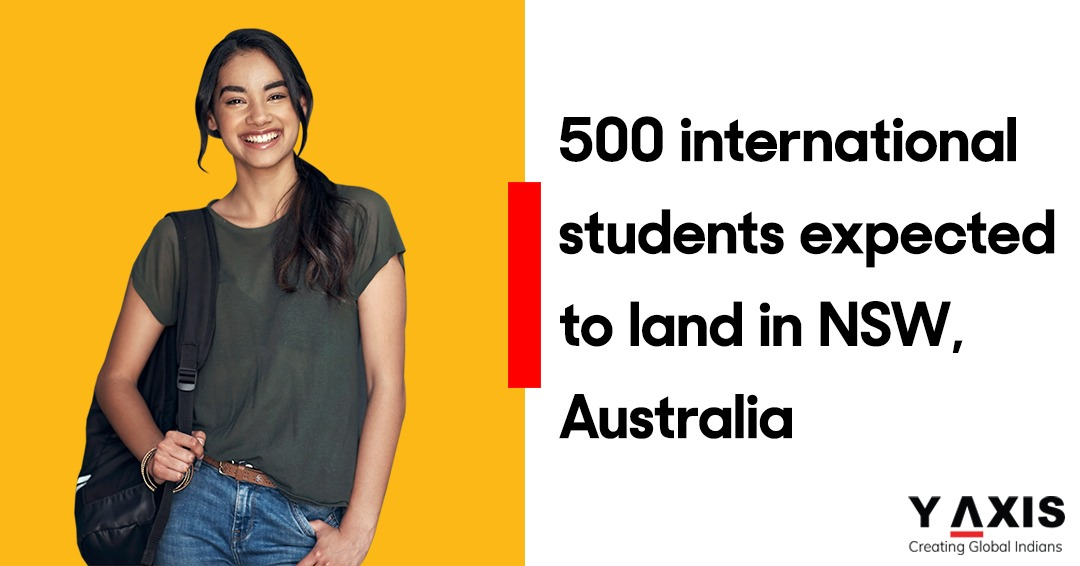 500 international students expected to land in NSW, Australia