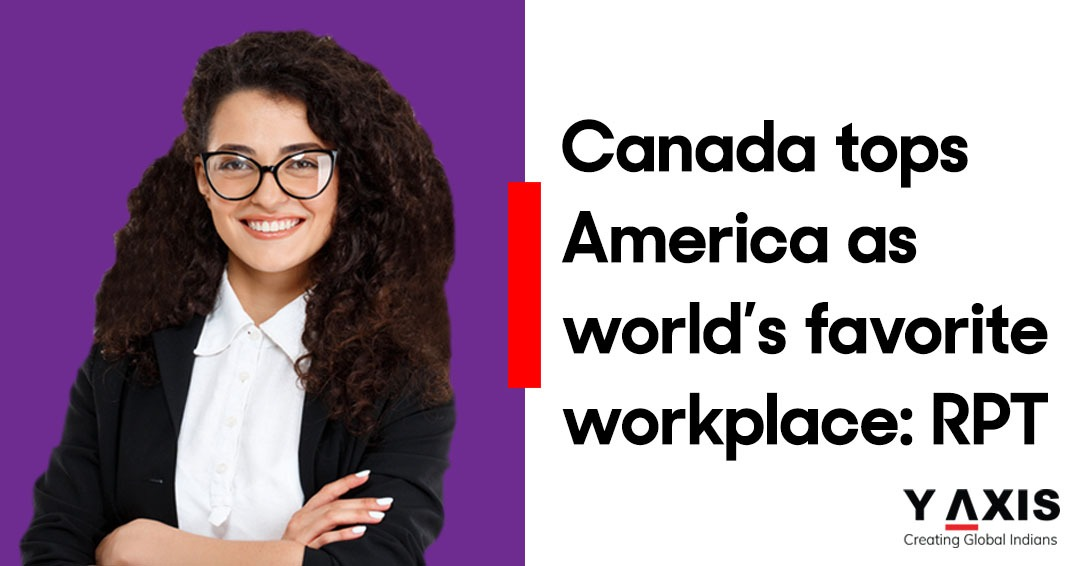 Work overseas in the best country to land a job in, work in Canada