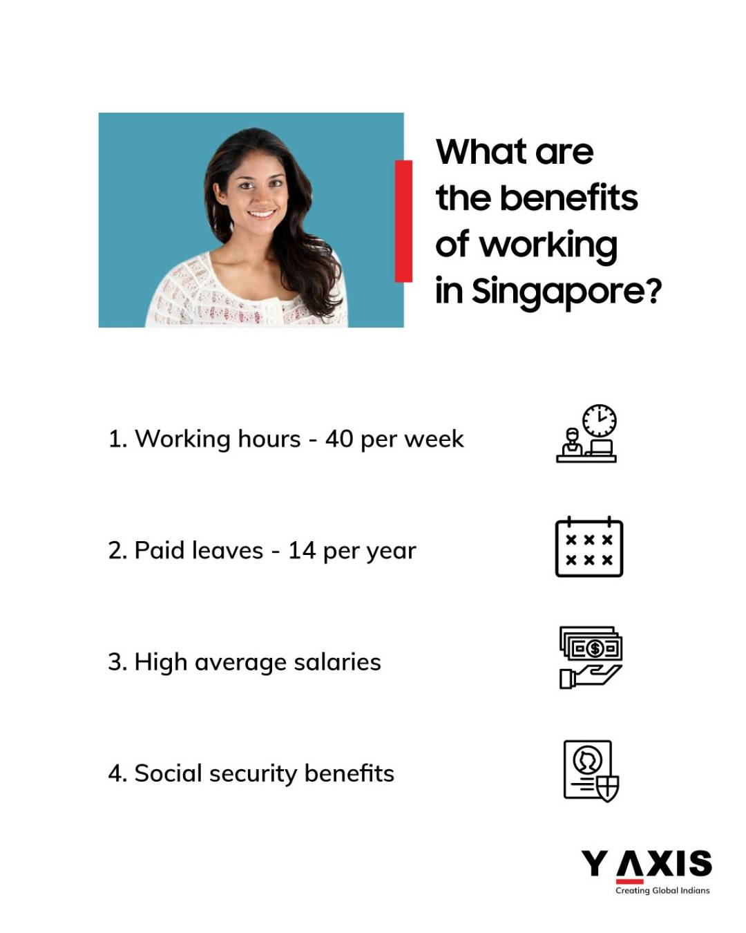 The benefits you will get if you work in Singapore