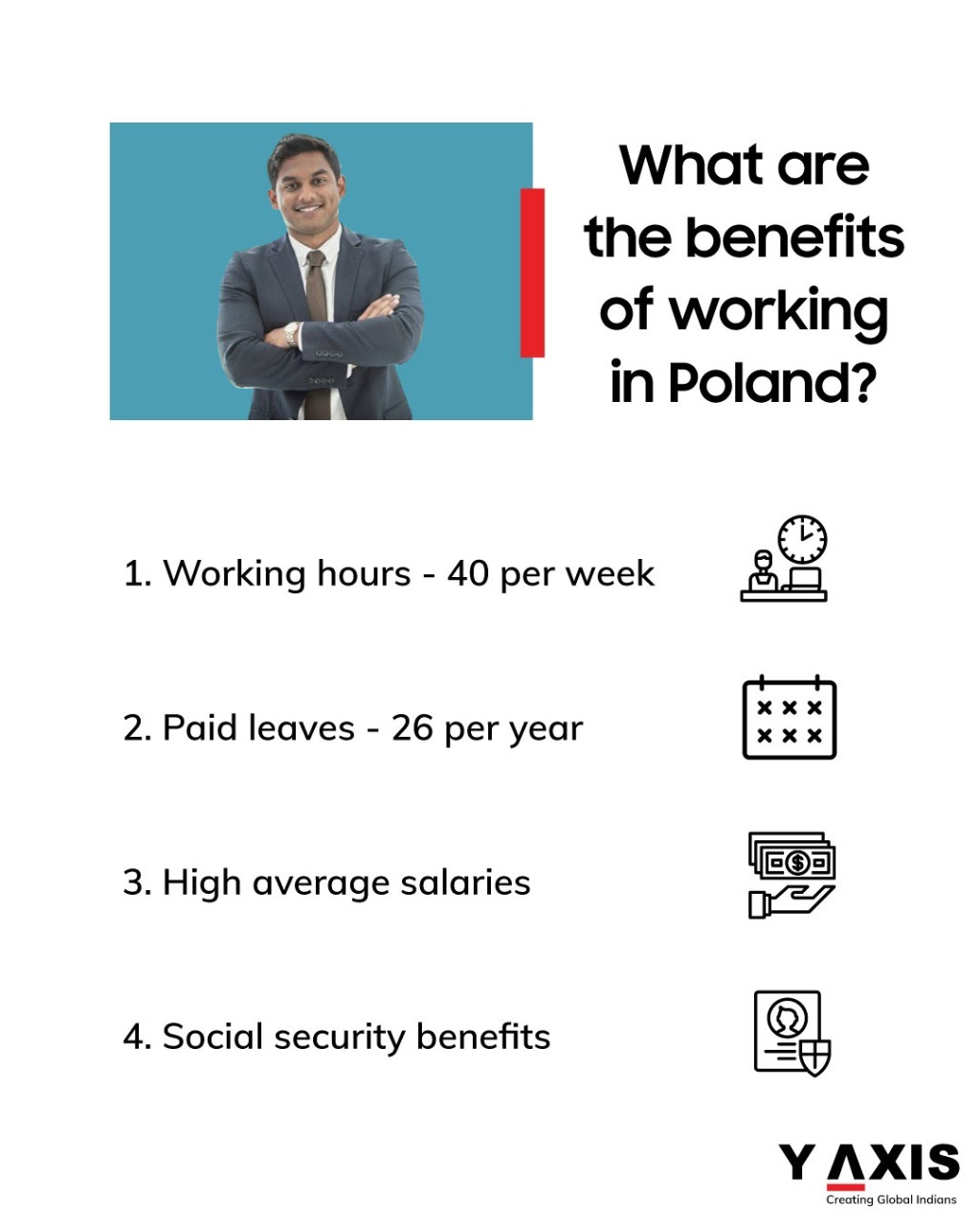 Here are the benefits you will get if you work overseas in Poland