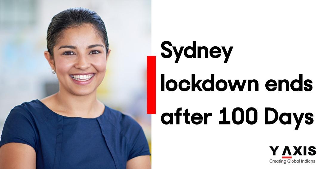 Sydney lockdown ends after 100 Days